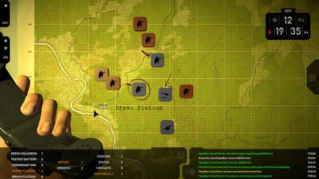 I've misplaced all my soldiers in strategy sim Radio Commander