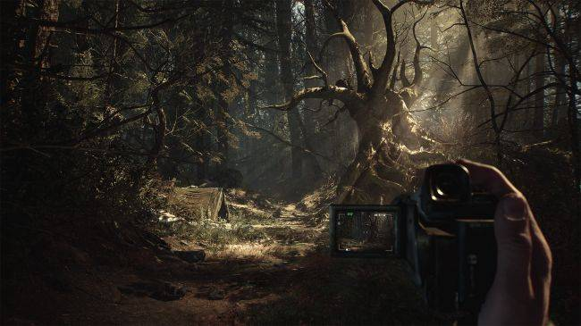 See new footage of the forthcoming Blair Witch game