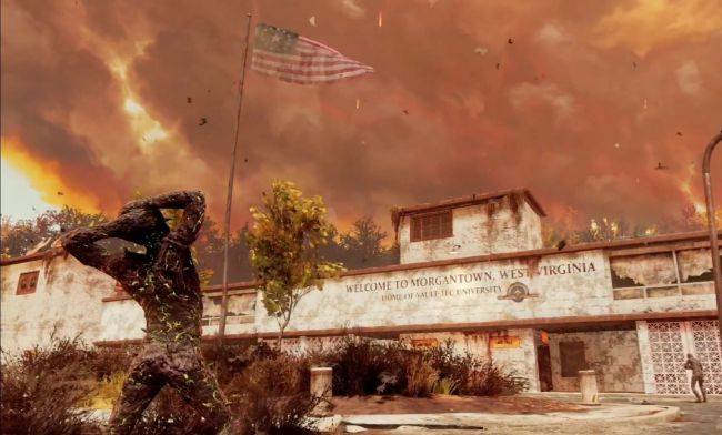 Morgantown map coming soon for Fallout 76 Nuclear Winter