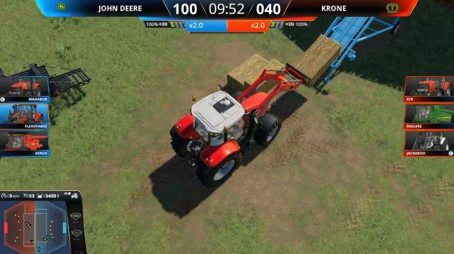 Competitive Farming Simulator 19 brings big drama to wheat harvesting