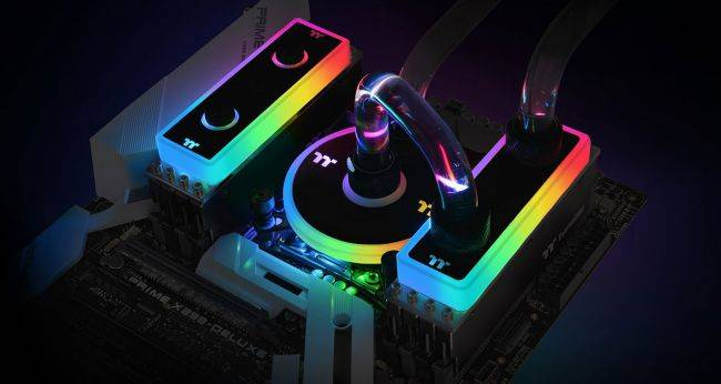 Thermaltake's liquid-cooled memory is cool, except for the specs