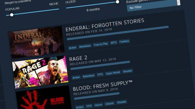 Valve updates Steam's new Interactive Recommender, teases a new 'experiment' coming