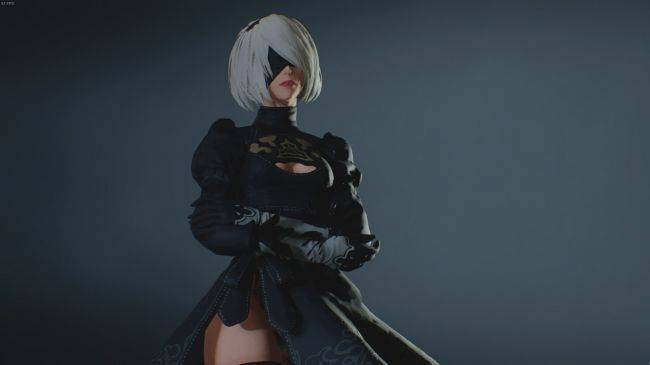 This Resident Evil 2 Remake mod lets you play as Nier's 2B