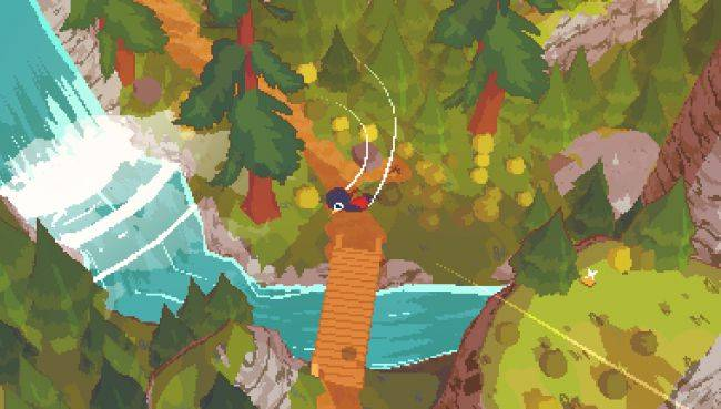 A Short Hike is a relaxing game about enjoying a wee trek