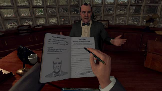 L.A. Noire VR developers are working on another VR game for Rockstar