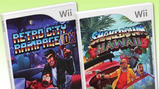 Pre-Orders For Shakedown Hawaii And Retro City Rampage DX On Wii Now Live