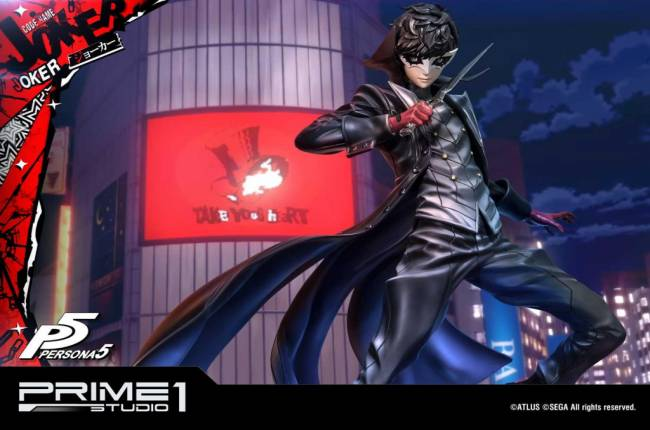 Let This Persona 5 Joker Figurine Take Your Heart For the Low Price of $700