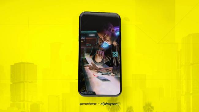 Augmented Reality Infiltrates Game Informer's Cyberpunk 2077 Cover