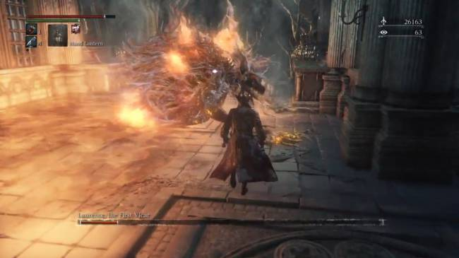 This Bloodborne clip proves that greed isn't good, especially when a boss has one hit left