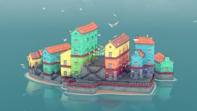 Make adorable, instant towns in Townscaper, out now in Steam Early Access