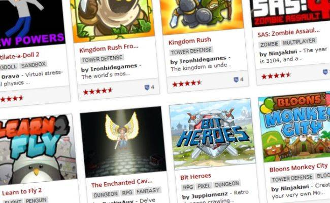 Browser game portal Kongregate is no longer accepting new games