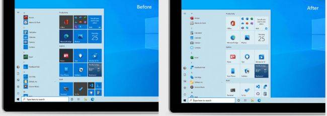 Microsoft is freshening up Windows 10's Start menu so it looks better with themes