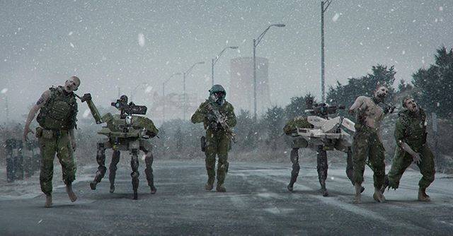 Modern Warfare concept art shows off the zombie mode that never was
