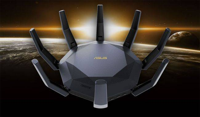 This router may resemble a headcrab but it's actually a serious networking kit