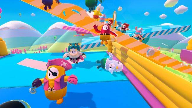 Waddling, casual battle royale Fall Guys coming in early August