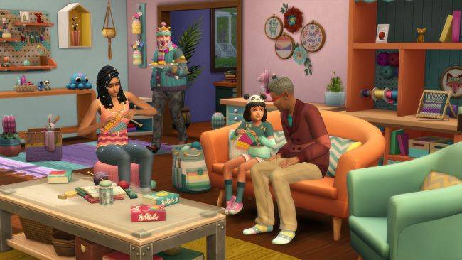 The Sims 4: Nifty Knitting trailer reveals more ways for sims to express themselves