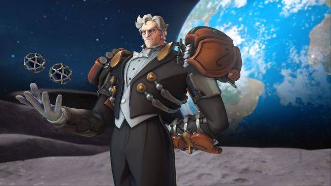 Get a new legendary skin and more in the Overwatch: Sigma's Maestro Challenge event