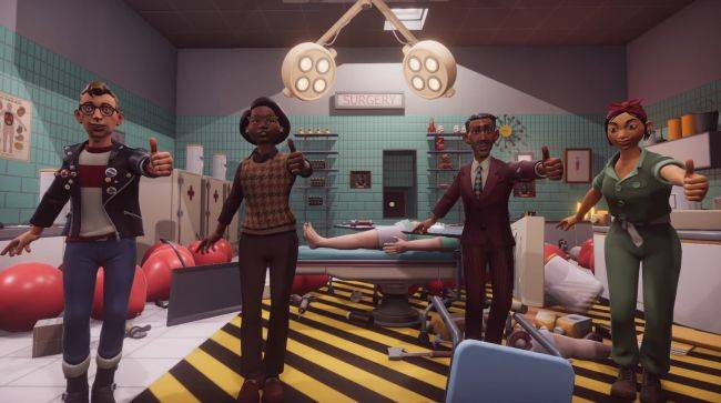 Surgeon Simulator 2 gets a release date and a bonkers new trailer
