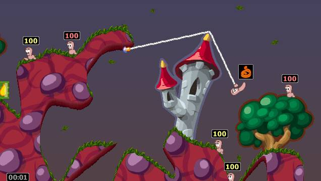 Worms Armageddon has been updated 21 years after it launched