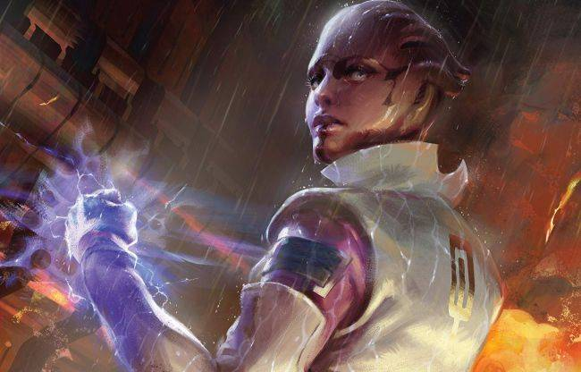 An expanded edition of the Mass Effect Trilogy art book is coming