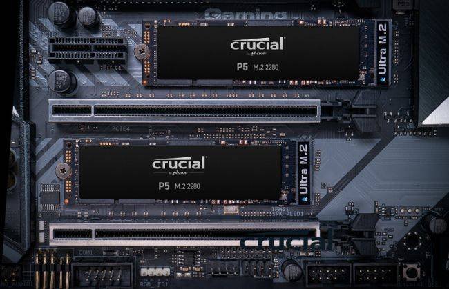 Crucial's new P5 SSDs for 'serious gamers' are now shipping at up to 2TB