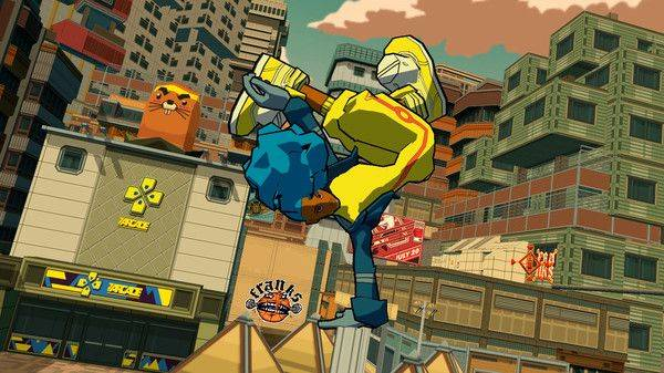 Bomb Rush Cyberfunk is an indie ode to Jet Set Radio, with the original composer