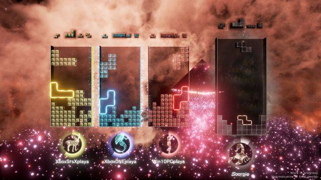 New 'ultimate incarnation' of Tetris Effect adds co-op and multiplayer, but only on the Microsoft Store