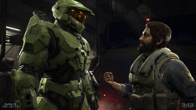 Yesterday's Halo Infinite gameplay reveal was a 'work in progress,' Microsoft says