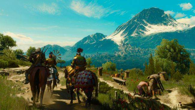 Watch this person walk through The Witcher 3 on a treadmill