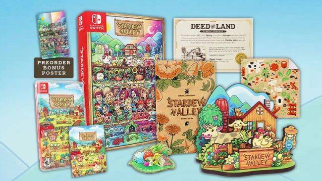 Stardew Valley boxed edition besets us with a sudden, irrational need to own a pretend farm deed