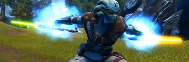 Star Wars: The Old Republic's Jedi Sentinel is the next class getting a combat style testing on PTS