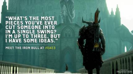 Meet Dragon Age: Inquisition's Creative Killer The Iron Bull