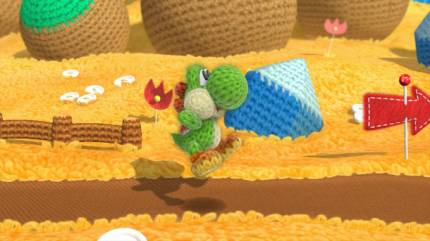 Playing Yoshi's Woolly World Is Like Wrapping Yourself In A Warm Blanket