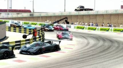 Racing Through The Streets In Grid Autosport