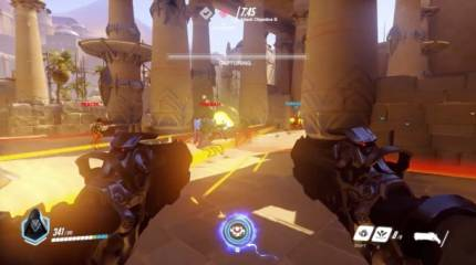 Reaper Cuts Down The Field In Six Minutes Of Overwatch Gameplay