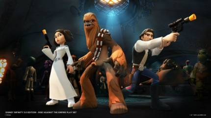 Experience Iconic Star Wars Trilogy Moments In Disney Infinity 3.0's Rise Against The Empire