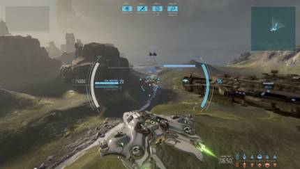 Yager Shows Off Dreadnought's Team Elimination Mode, Complete With Snub Fighters
