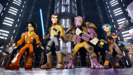 Star Wars Rebels Characters Join Disney Infinity 3.0