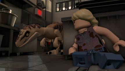 Lego, Uh, Finds A Way In Jurassic World Launch Trailer