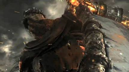 Our First Look At A Dark Souls III Boss