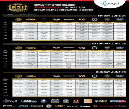 Watch fighting game tournament CEO this weekend for a preview of Evo 2016