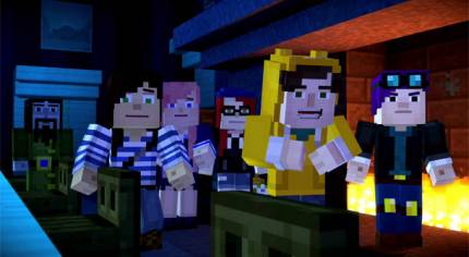 Minecraft: Story Mode – Episode 6 Launch Trailer Shows More YouTubers Being YouTubers