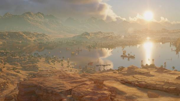 Ubisoft On Scaling Pyramids And Riding Camels In Assassin's Creed Origins
