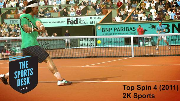 The Sports Desk –A New Era For Video Game Tennis
