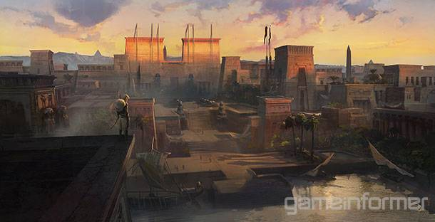 See Assassin's Creed Origins Come To Life In Beautiful Concept Art