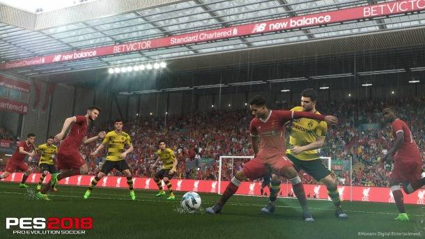 PES 2018 Feels Like A Different Game, And That's Good