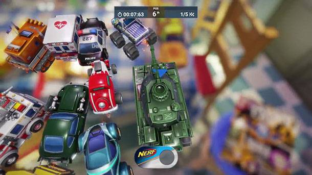 See Miniature Cars Fly Out Of Toasters In Gameplay Trailer