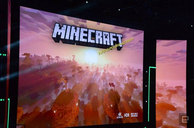 'Minecraft' makes the leap to 4K this fall