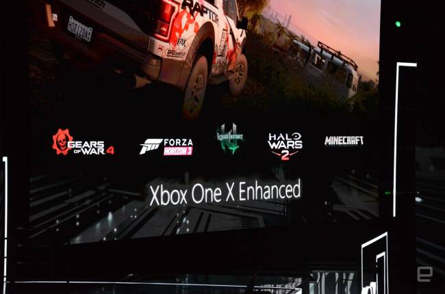 Microsoft's existing games will play in 4K on your Xbox One X