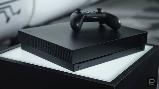 A closer look at the Xbox One X